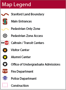 Stanford Searchable Map